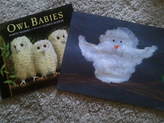 Owl Babies project for kids.