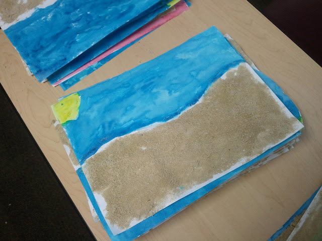 arts and crafts for the summer- projects to do during the summer for kids or in the weeks leading up to summer break