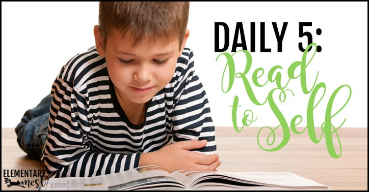 Daily 5: Read to self
