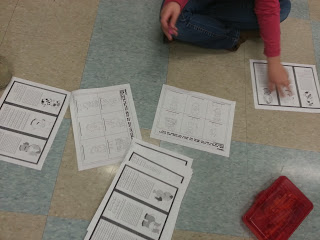 Reverse base-ten activity for elementary students