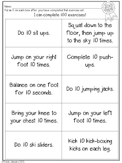 100 exercises for students