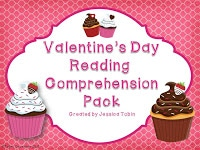 Valentine's Day Reading Comprehension Pack
