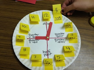 Telling Time activities- hands on math activities to help your students learn how to tell time and work with clocks