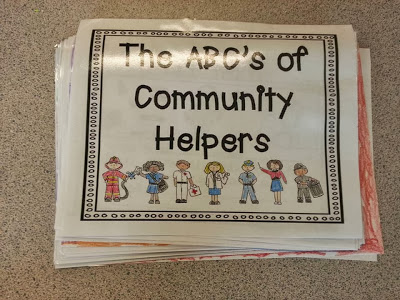 Shared research project for community helpers unit