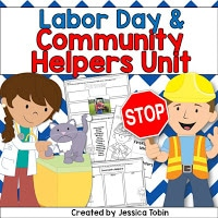 Labor Day & Community Helpers Unit