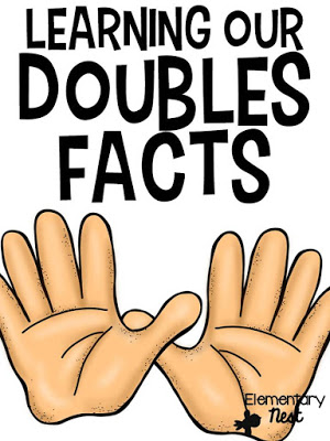 Doubles Fact Addition- learning the skill of doubles with centers, poems, and activities