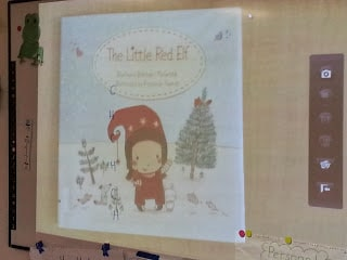 The Little Red Elf book cover