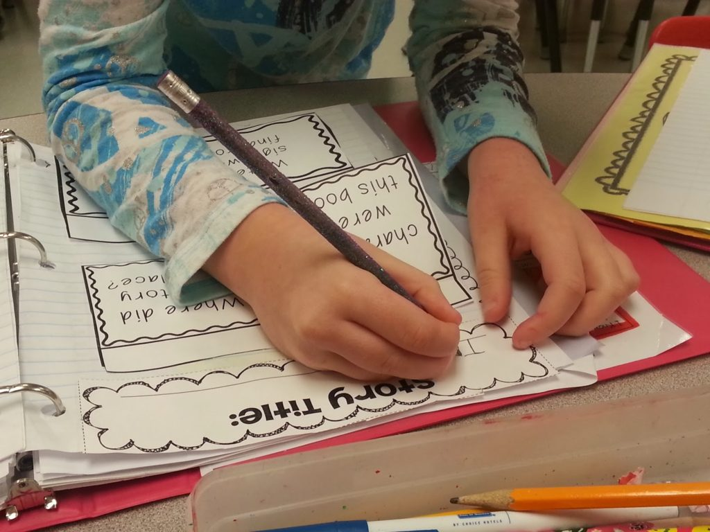 Reading Responses Interactive Notebooks pieces- students read stories then use these interactive pieces for hands on learning fun