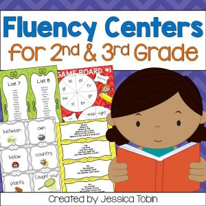 Fluency centers for 2nd and 3rd grade