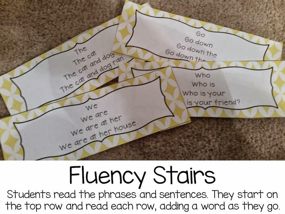 Fluency stairs