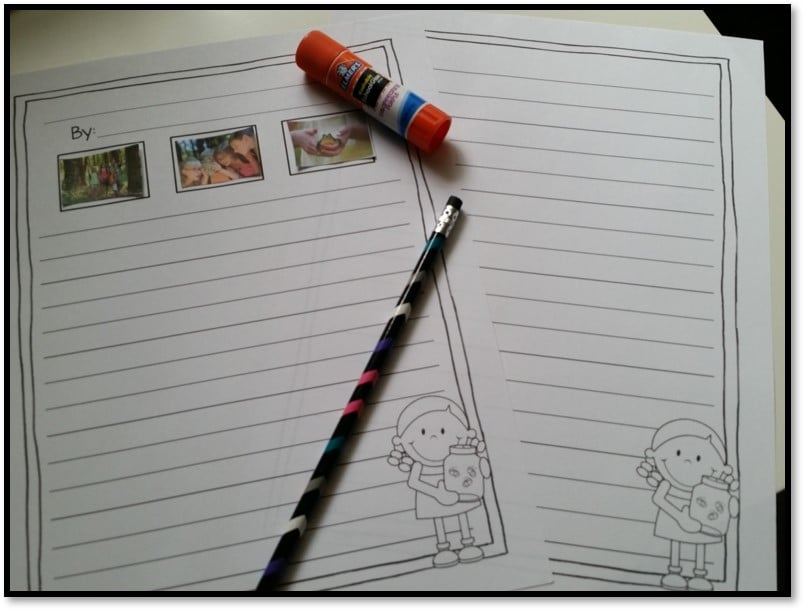 Interactive writing activities - How to make writing interactive with choices and ownership over the narrative writing, opinion writing, and informative writing