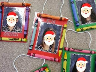 Christmas ornament craft idea for the classroom