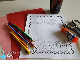 Free reading and writing activity for the primary classroom.