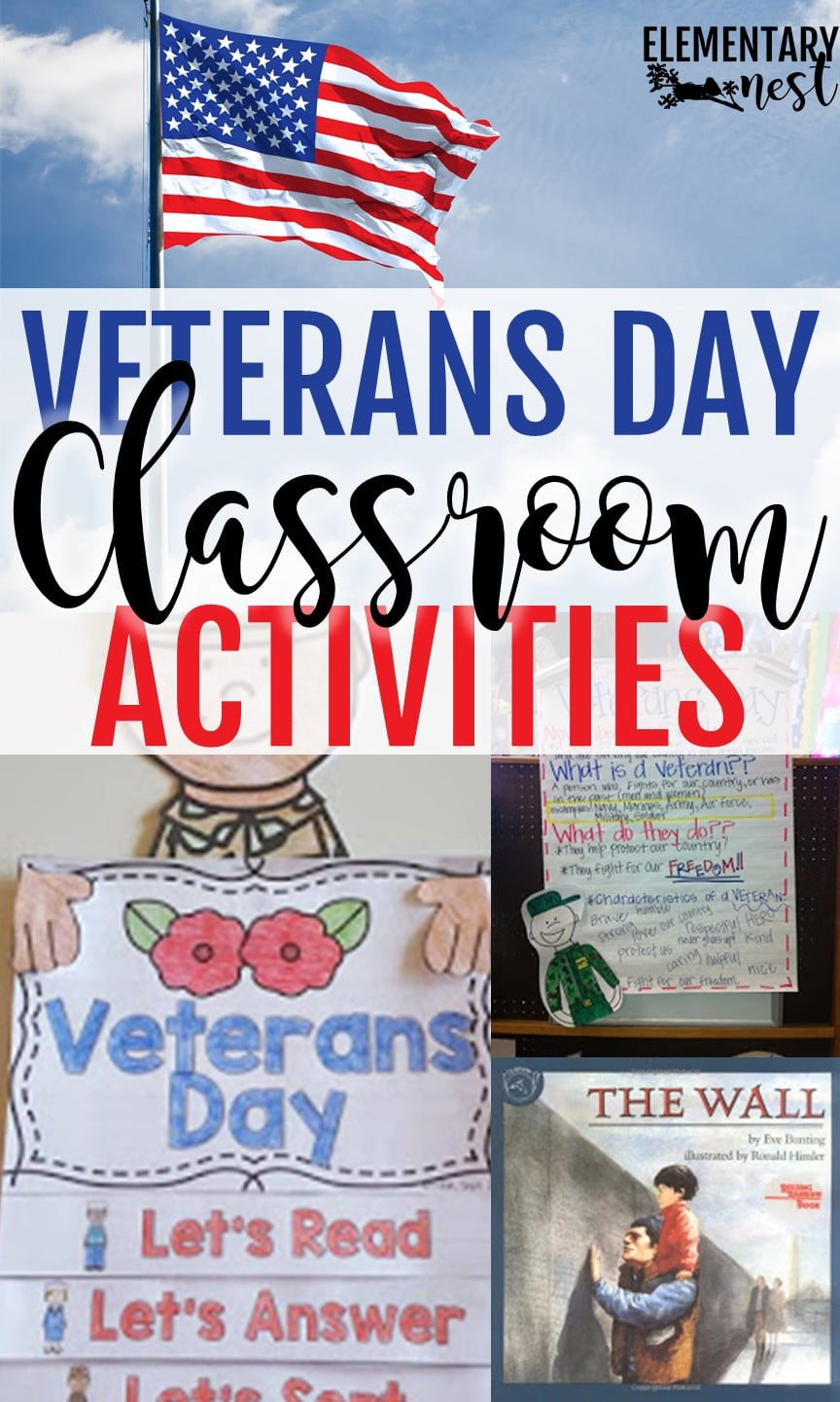 Veterans Day Activities For Elementary Students Elementary Nest