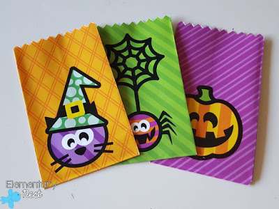 Adorable treat bags.