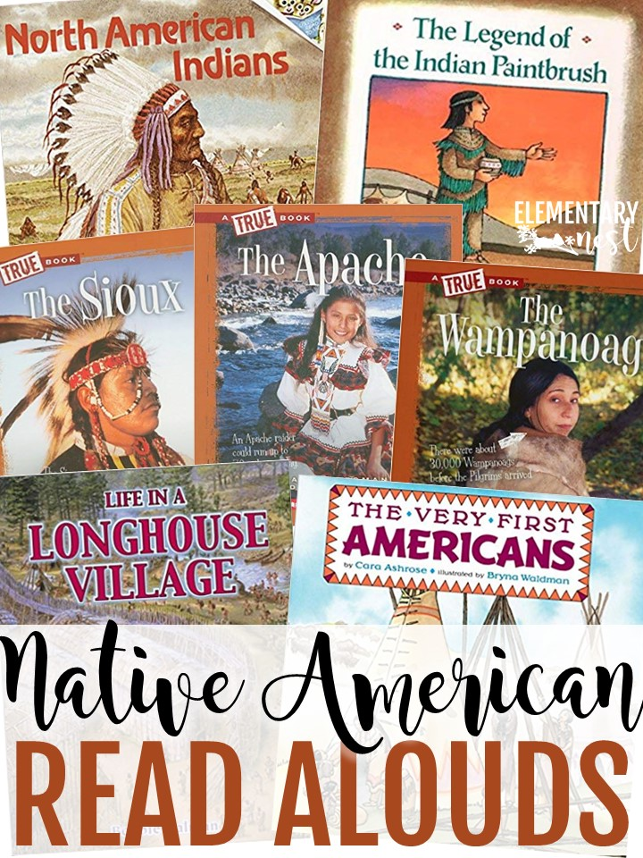 Native American read alouds, Native American Lessons, Native American activities for thanksgiving lesson plans.