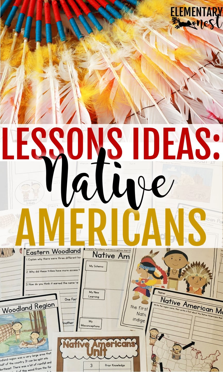 Native American Lessons, Native American activities for Thanksgiving lesson plans, Native American teaching ideas.