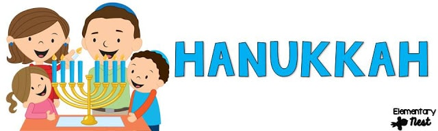 Hanukkah reading activity for the primary classroom.