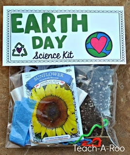 Earth day science kit for kids.