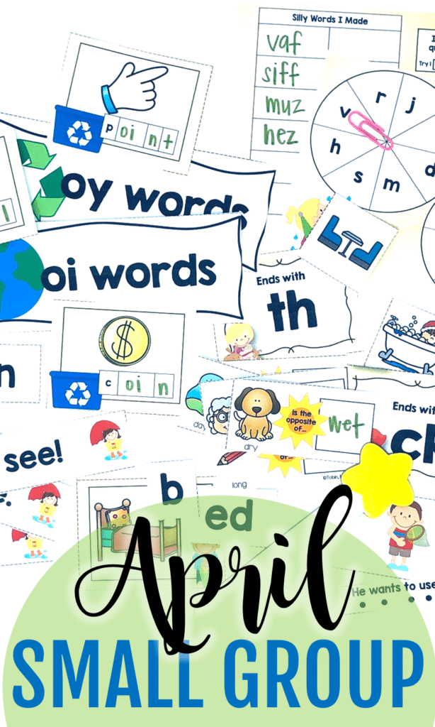 A Collection Of April And Spring Resources With A Freebie