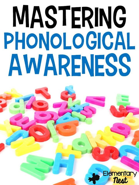 Phonological Awareness- ELA Activities for first grade students working with syllables, vowels, phonemes, decoding, and isolating sounds. Common Core aligned hands-on work for Foundational skills.