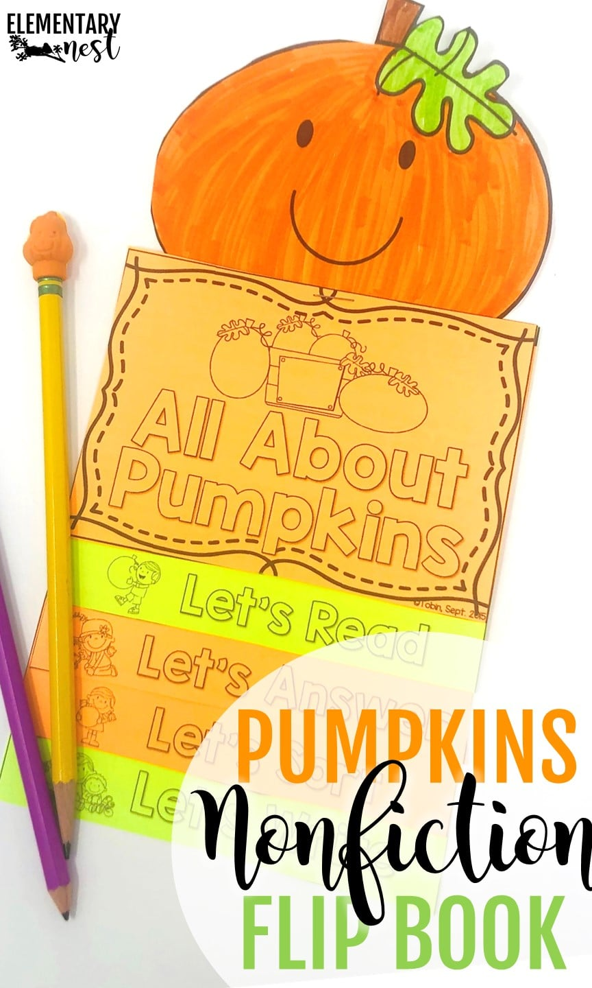 October lesson plan idea with pumpkin life cycle activity.