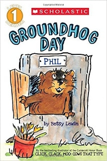 Scholastic Groundhog Day leveled reader.