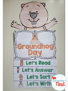 Groundhog Day Activities for teachers and students- hands on crafts, reading activities, books, and predictions.