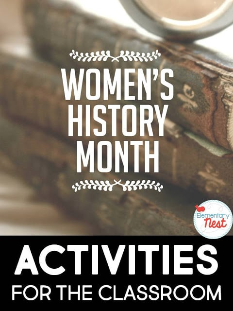 Womens' History Month Activities- reading and writing activities for the primary classroom.