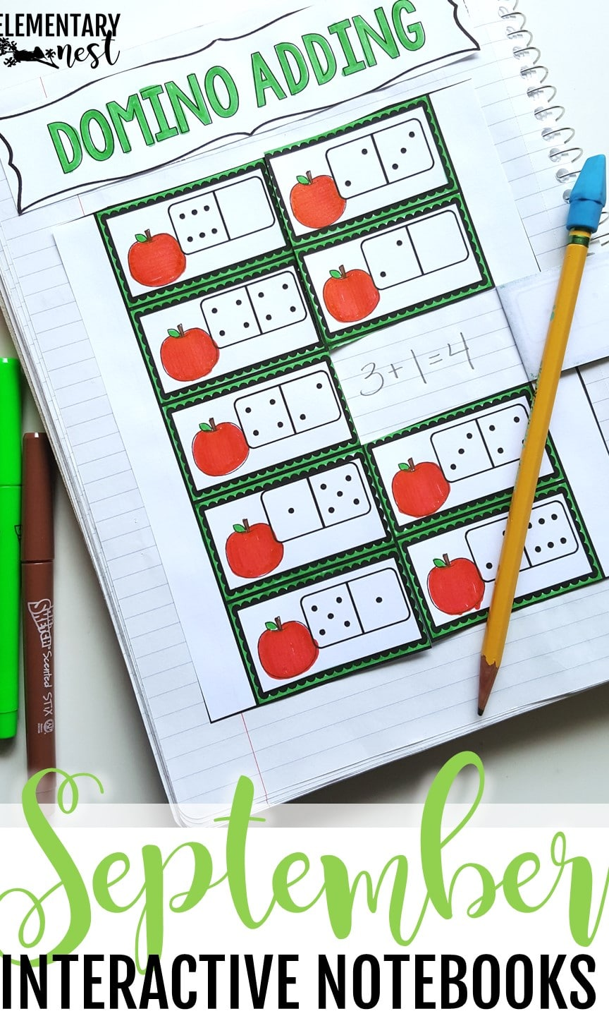 September ELA and Math interactive notebook- September Activities and primary resources.