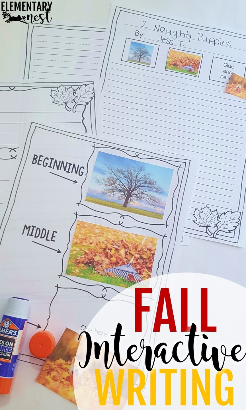 Interactive Writing activities for fall.