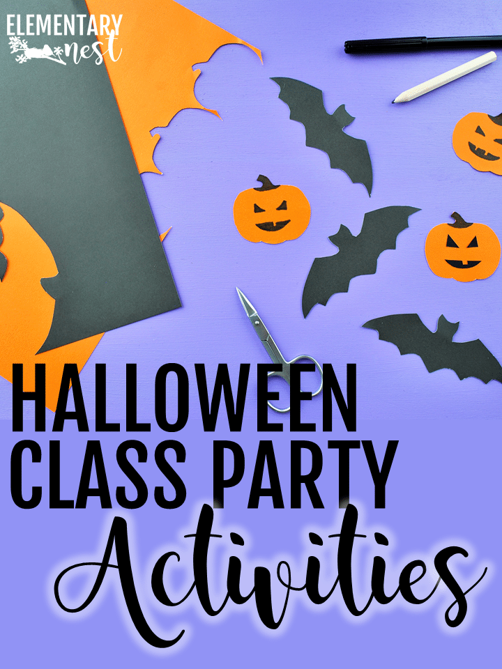 Classroom Halloween party activities and free games.