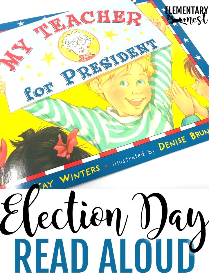 My Teacher for President- Election Day Read Alouds and stories.