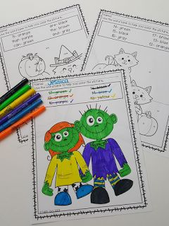 Halloween coloring sheets- Halloween party ideas