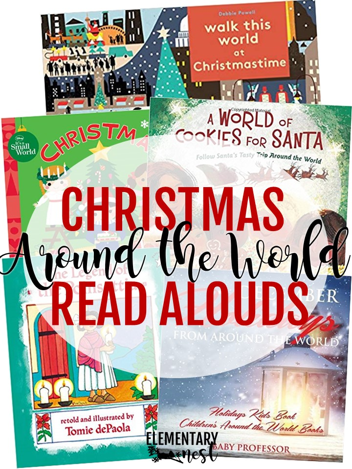 Christmas Around the World reading suggestions.