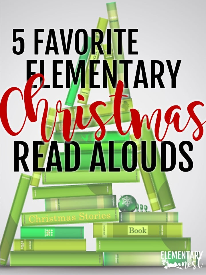 Christmas Read Alouds and stories for elementary teachers- Christmas activities, Christmas reading