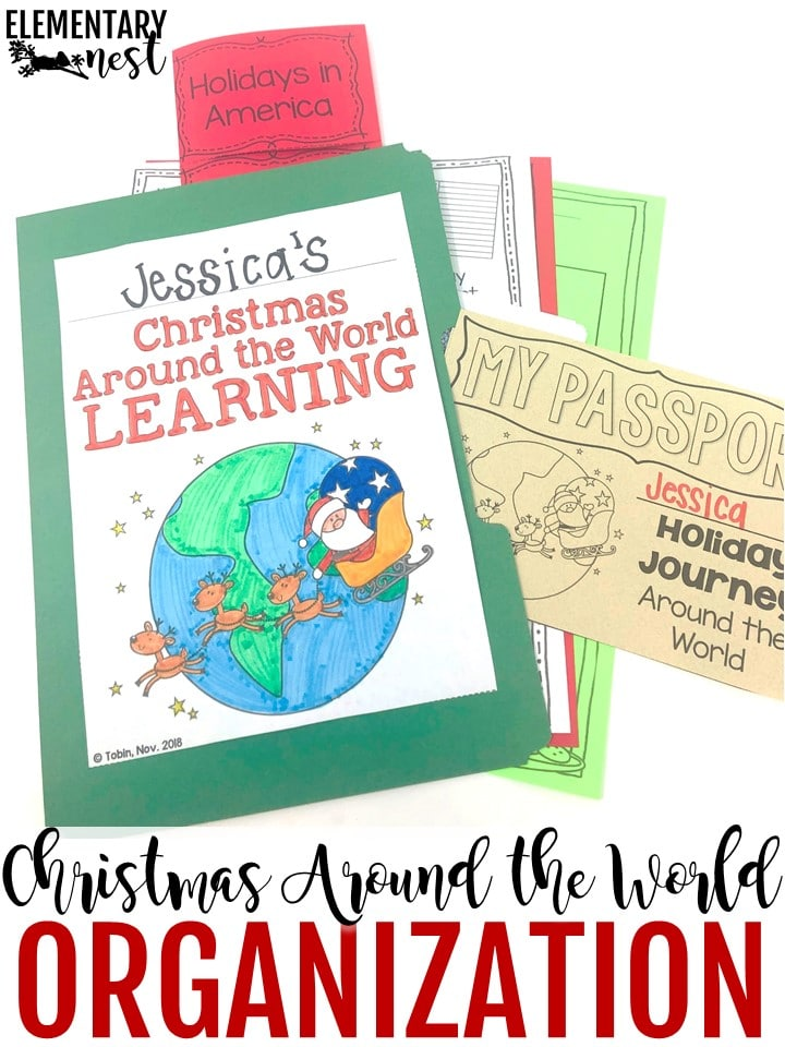 Organizing your Christmas Around the World lesson plans and ideas.