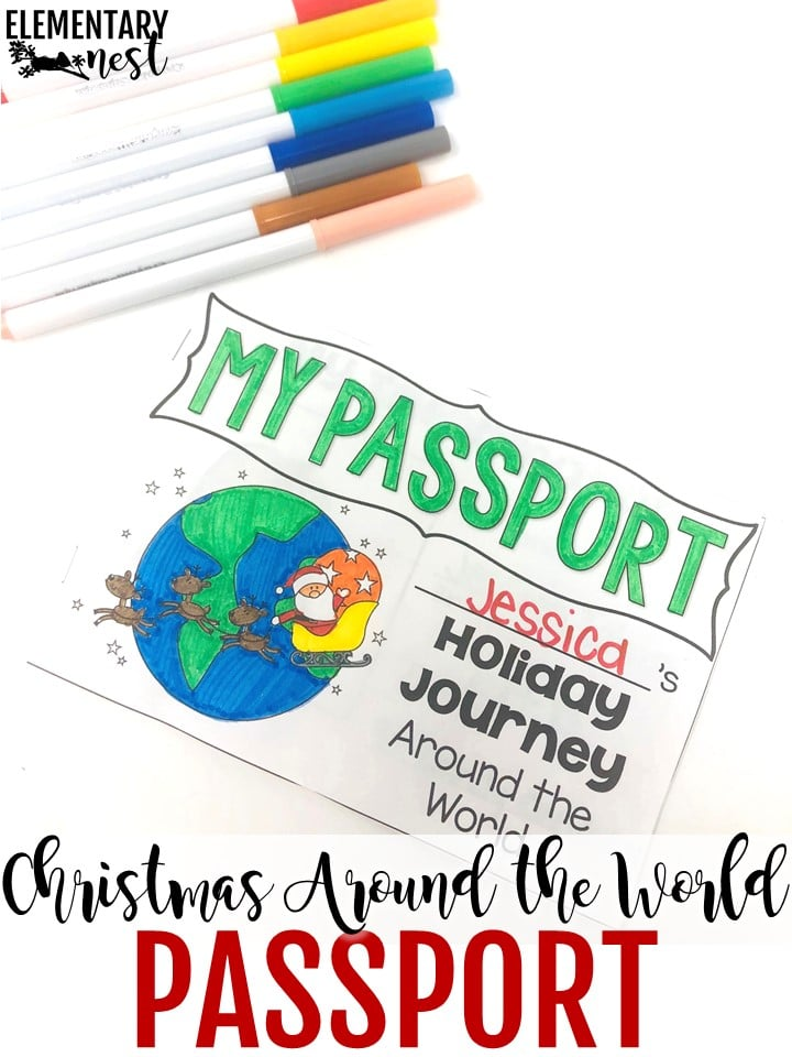 Christmas Around the World lesson plans and ideas.
