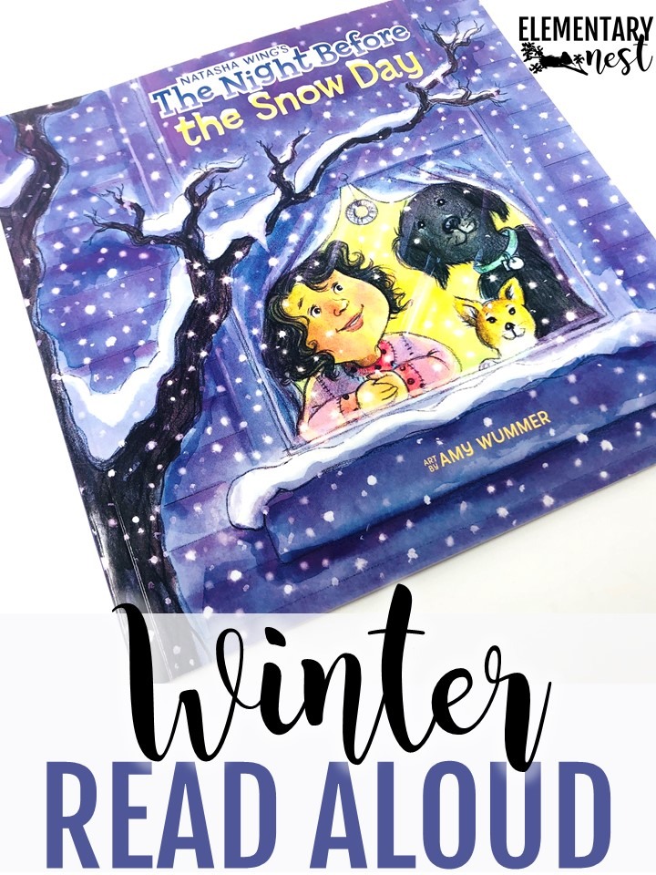 The Night Before the Snow Day winter read aloud for kids.