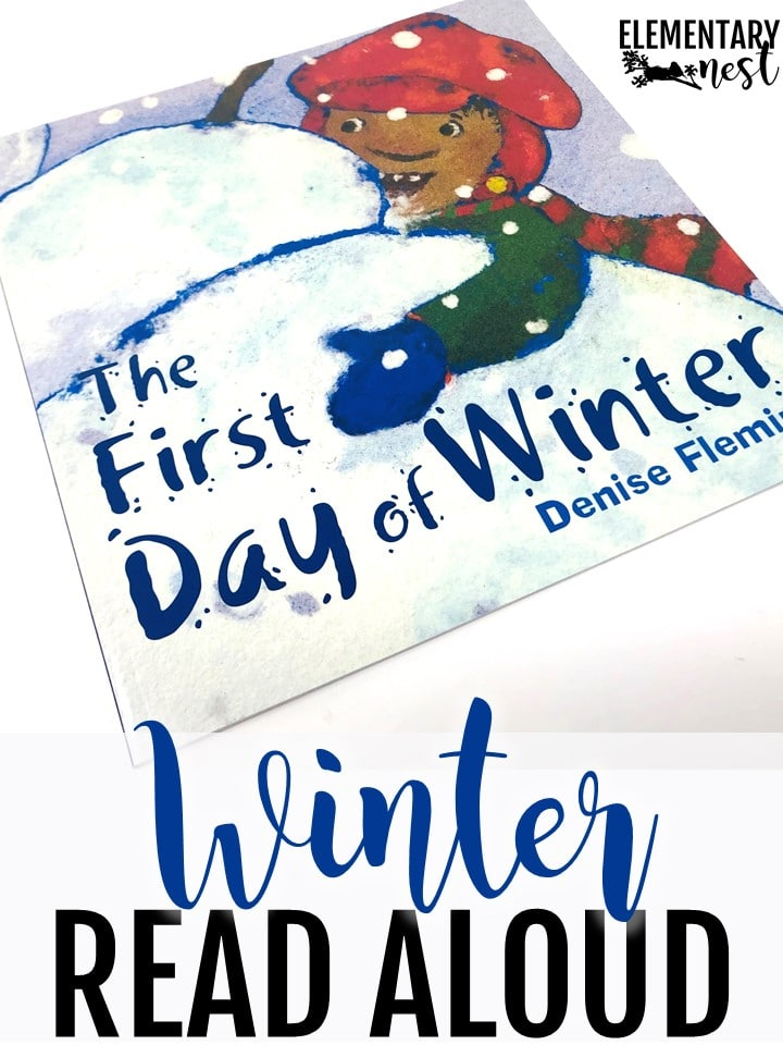The First Day of Winter read aloud activity for kids.