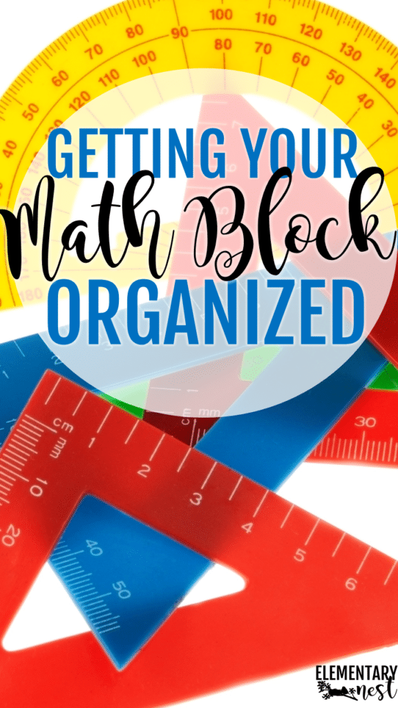 How to organize manipulatives, math centers, math paperwork, and other math activities in the classroom.