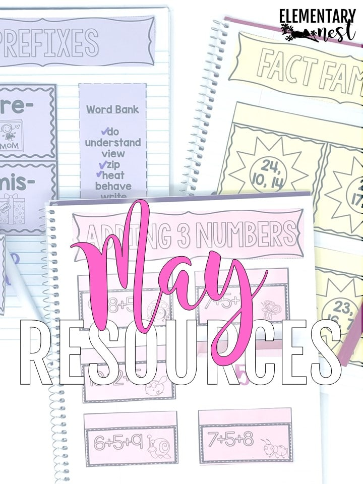 May Resource Roundup and Freebies for K-3 lesson plans and activities.