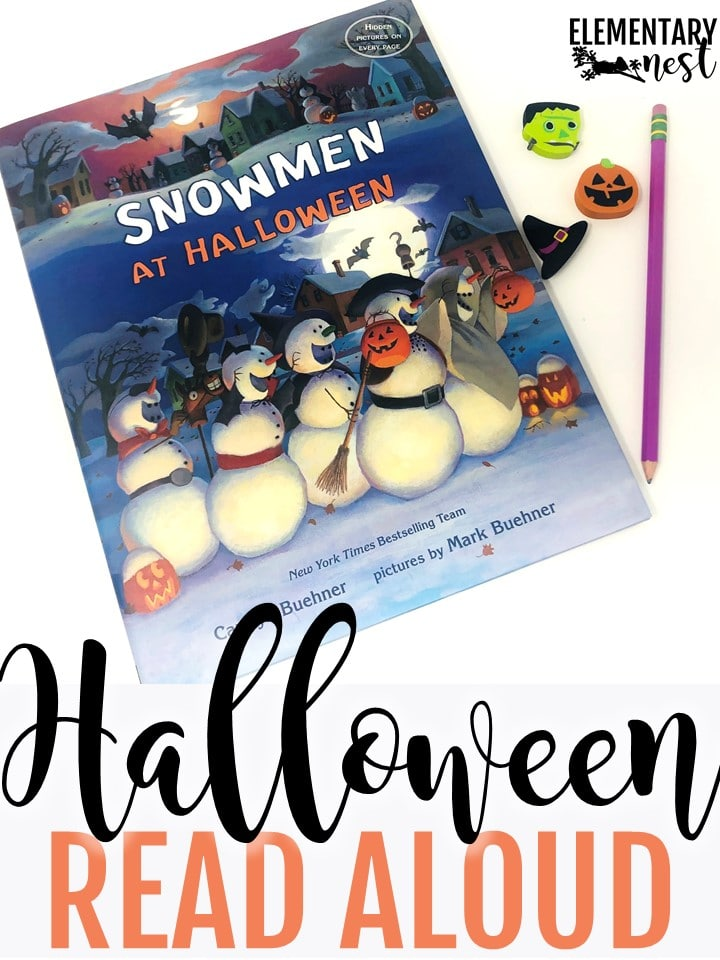 Snowmen at Halloween read aloud for primary students.