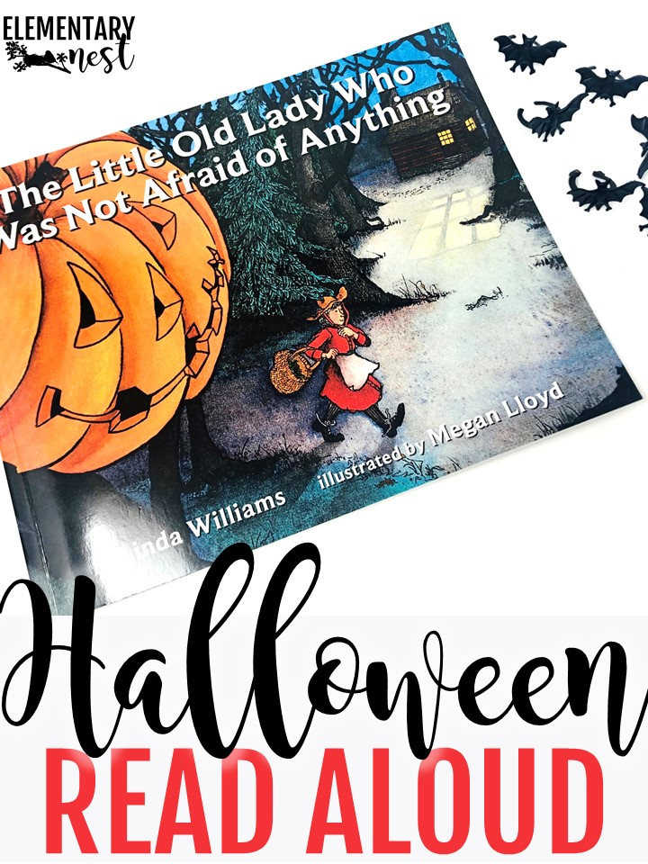 The Little Old Lady Who Was Not Afraid of Anything Halloween read aloud.