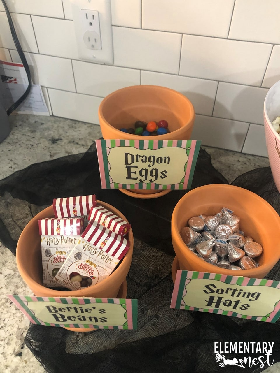 Harry Potter candy ideas.