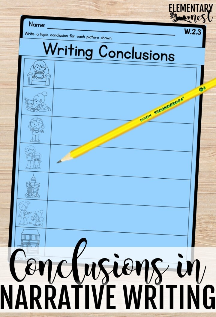 Conclusions in narrative writing.