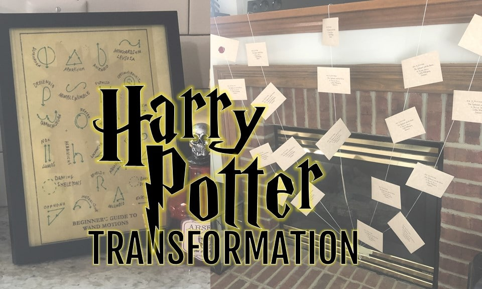 Hosting a Harry Potter party, how to transform your room into a Harry Potter world