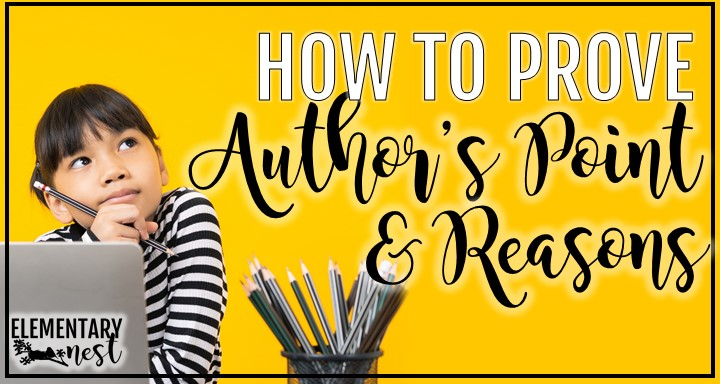 Blog post about how to prove author's point and reasons.