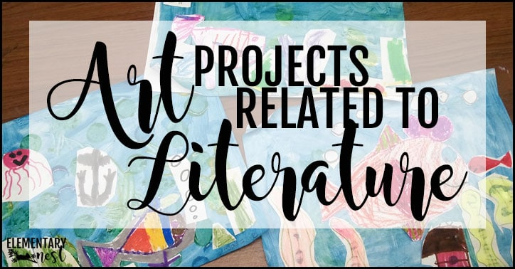 Art projects related to literature