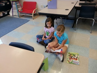 Classroom reading time